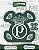 Cartela de 2 adesivos retrô do Palmeiras - Imagem 1