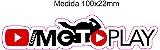 Adesivo Canal Edição Comemorativa 100K - FRETE GRÁTIS - Imagem 3