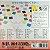 Papel P/ Origami 17,5x17,5cm Liso Face única 50 Cores E-30-175 (60fls) - Imagem 52
