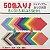 Papel P/ Origami 17,5x17,5cm Liso Face única 50 Cores E-30-175 (60fls) - Imagem 1