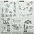 Papel p/ Origami 30x30cm Dupla-Face Lisa 15 Combinações de Cores AEF00005 (15fls)  - Imagem 17