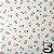 Papel p/ Origami 15x15cm Estampada Face Única (20fls) Washi Chiyogami Flor Aquarela- Daiso - Imagem 5