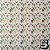 Papel p/ Origami 15x15cm Estampada Face Única (20fls) Washi Chiyogami Flor Aquarela- Daiso - Imagem 3