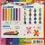 Papel p/ Origami 2,14x15cm Face Única 7 Cores  Dettachable Strips Colored Paper AEE00027 (245fls) - Imagem 10