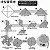 Papel P/ Origami 7,5x7,5cm Estampada Face única AFB00080 (80 Fls) - Imagem 7