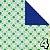 Papel de Origami 15x15 Fruit Pattern 20 fls AEH00158 Jong Ie Nara - Imagem 4