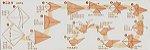 Papel P/ Origami 15x15cm Liso Dupla Face 12 Combinações - 004014 (35fls) - Imagem 18