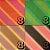 Papel P/ Origami 7,5x7,5cm Estampada Face única Blossom Colored Paper AFB00079 (80 Fls) - Imagem 2