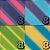 Papel P/ Origami 7,5x7,5cm Estampada Face única Blossom Colored Paper AFB00079 (80 Fls) - Imagem 3