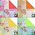 Papel P/ Origami 15x15cm Quilt Pattern 1 AEH00156 (20fls) - Imagem 2