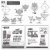 Papel de Origami 15x15cm Estampada Face Única AFB00058 (40fls) - Imagem 7