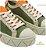 Tênis Flatform Schutz Verde E Laranja  - Imagem 4