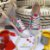 Tênis Santa Lolla Colorido Tie Dye Cadarços - Imagem 1