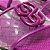 Chinelo Slide Feminino Schutz Roxo Matelasse - Imagem 2