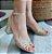 Sandália Schutz Dourada Trançada - Imagem 1