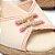 Anabela Schutz Corda Detalhes Rosa Neon - Imagem 5