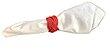 4 peças - porta guardanapo Madeleine vermelho - Imagem 1