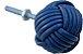 Puxador  para  móveis  em couro azul royal - Imagem 1