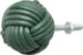 Puxador em couro para armários e gavetas  verde escuro - Imagem 4