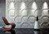 Forma Molde para Gesso 3D e Cimento Modelo Lucca 39x39 ABS - Esquadro Perfeito - Imagem 2