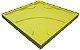 Forma Molde pra Gesso 3D e Cimento Silicone Modelo Bari 29x29 - Esquadro Perfeito - Imagem 2