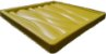 Forma Molde pra Gesso 3D e Cimento Silicone Modelo DUNAS 29x29 - Esquadro Perfeito - Imagem 2