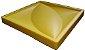 Forma Molde pra Gesso 3D e Cimento Silicone Modelo FLORAL 29x29 - Esquadro Perfeito - Imagem 2