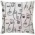 Capa de almofada Faces  - Imagem 1