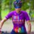 Camisa Vezzo Race by Roberta Stopa- Roxa - Imagem 1