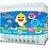 Cotonete para bebê Hastes Flexíveis caixa c/ 50 uni - Cremer Baby Shark - Imagem 1