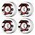 Roda de Skate Powell Peralta Park Rippers 54mm 104A - Imagem 2
