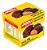 BOLACHA AMINNA COM CHOCOLATE SEM GLUTEN 100G - Imagem 1