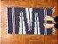 Tapetinho de bico lateral azul marinho e azul pastel - Imagem 1