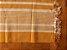 Beira cama listras mostarda e cru - Imagem 2