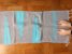 Passadeira bico lateral azul e cinza - Imagem 1