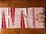 Passadeira bico lateral vermelho e rosa pastel - Imagem 1
