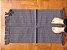 Tapetinho em algodão liso cinza chumbo - Imagem 1