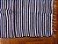 Tapetinho em malha listrada preto e branco - Imagem 2