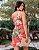 Vestido estampa floral coral - Imagem 3