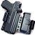 KIT COLDRE KYDEX BRAVO – IWB TORSION 3.0 – SIG SAUER P320 COMPACT CARRY / M18 - Imagem 3