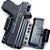 KIT COLDRE KYDEX BRAVO – IWB TORSION 3.0 – GLOCK MOS 19 23 25 32 19x MOS. - Imagem 3