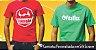05 Camisetas básica em malha de algodão com logo (01 cor) estampado na frente, cada uma sai a 36,90 - frete grátis! - Imagem 4