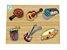 Quebra-cabeça com Pinos Instrumentos Musicais - Imagem 1