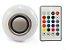 Lâmpada Led RGB Musical Bluetooth 3w com Alto Falante e Controle Remoto - Imagem 1