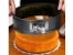 Kit 2 Formas Redondas Para Bolos Com Fundo Removível Antiaderente 26cm 22cm Em Aço Carbono Resistente - Imagem 6