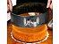 Kit 2 Formas Redondas Em Metal Com Fundo Removível Para Bolos 28cm 22cm Aço Carbono Resistente Altas Temperaturas - Imagem 6