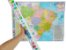 Mapa do Brasil Político Rodoviário e Estatístico Edição Atualizada Marcação Divisão Entre Estados 120x90 cm - Imagem 1