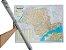 Mapa do Estado De São Paulo Edição Atualizada Político Rodoviário Turístico Marcação Divisão De Cidades 120X90 cm - Imagem 1