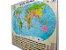 Mapa Mundi Planisfério Político Escolar Divisão De Países e Capitais 120x90 cm Edição Atualizada - Imagem 4