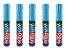 Kit Com 5 Canetas Para Escrever em Vidros Window Marker - Imagem 2